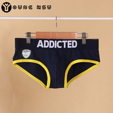 Men's Calcinha Collection Brief Breathable Cotton Underwear