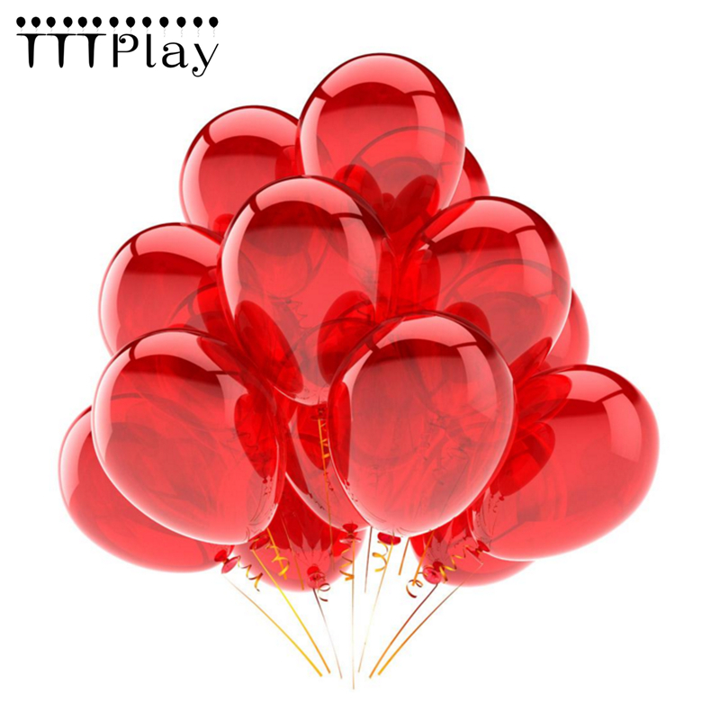 Buy Red Balloons 10pcslot 12 Inch Latex