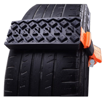 2PCS Universal Rubber Nylon Snow Mud Chain for Trucks Cars Snow Tire Chains Emergency Anti Skid Strap
