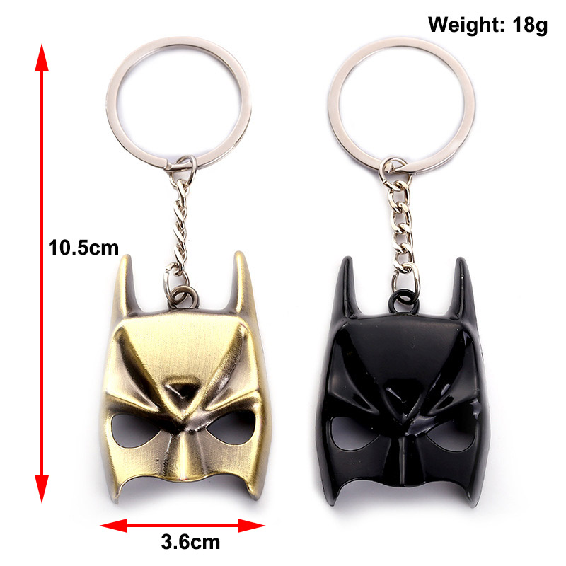 Black Panther Mask Keychain (5)