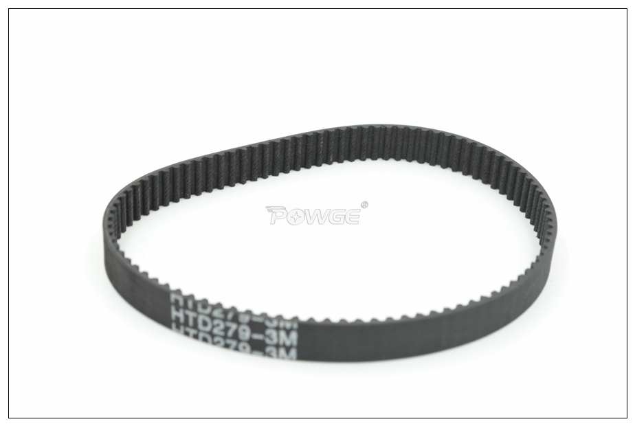 15mm Wide 270mm Long 270-3M-15 HTD Timing Belt 3mm Pitch Free Del