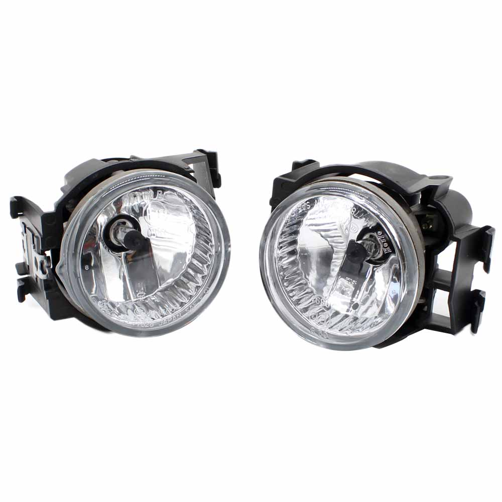 2pcs Car Styling Round Front Bumper Fog Lights DRL Daytime Running Driving fog lamp For Subaru Outback 2010 2011 2012 with Bulbs 1 set led daytime running lights front driving fog lamps drl for subaru forester 2014
