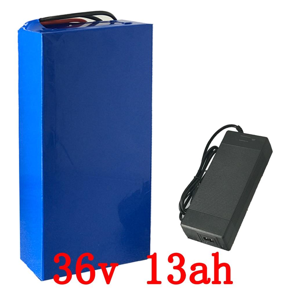 Batterie au lithium 36 v 13.2Ah 600 W Scooter Batterie 36 v avec 43.8 v 2A chargeur, 15A BMS LiFePo4 batterie 36 v Vélo Électrique Batterie 36 v