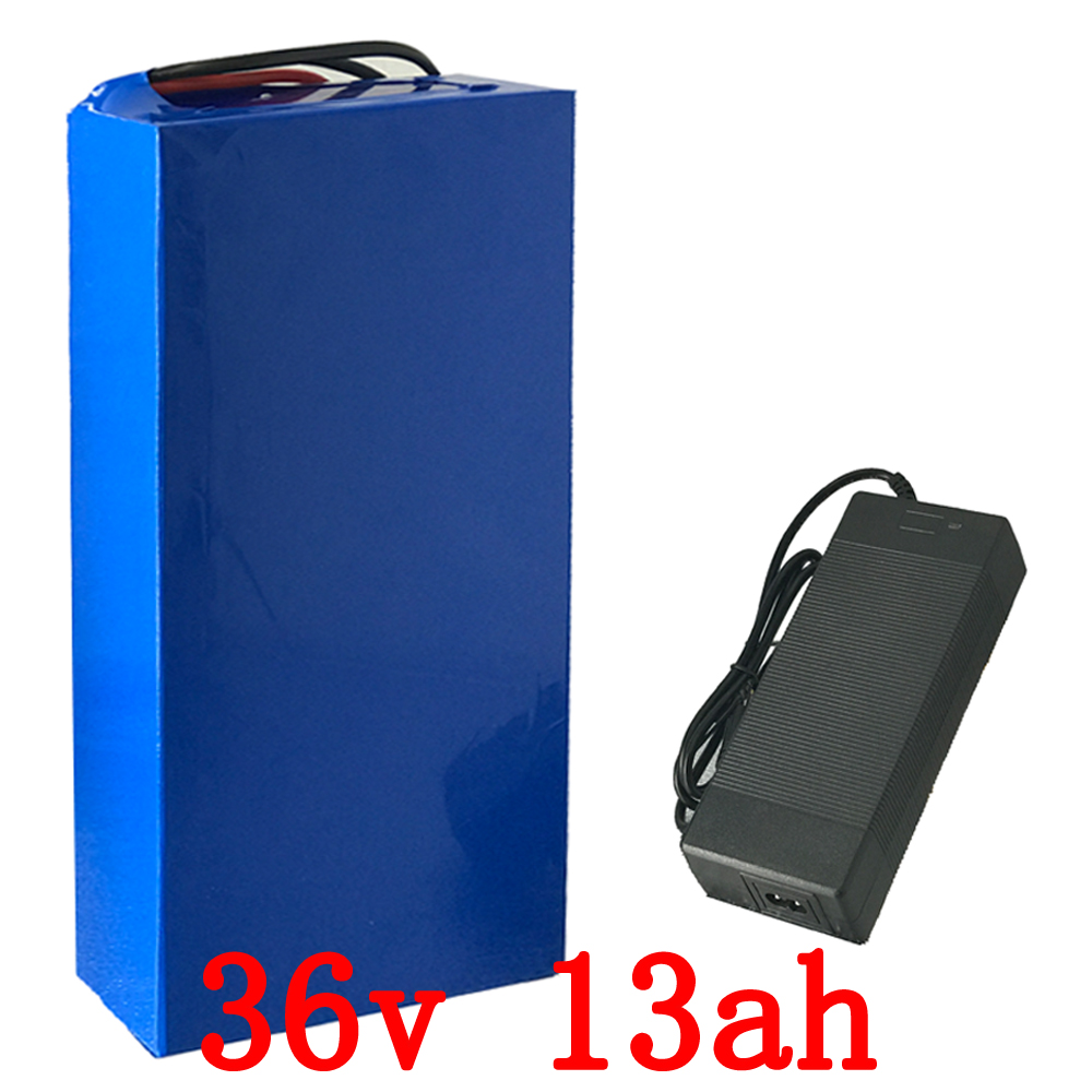 Lithium Battery 36v 13.2Ah 600W Scooter Battery 36v with 43.8v 2A charger,15A BMS LiFePo4 Battery 36v Electric Bike Battery 36v diy e scooter battery pack 36v li ion electric bike battery 36v 12ah lithium battery with bms and charger