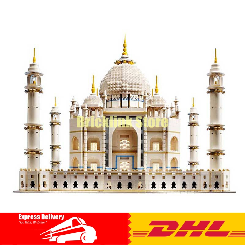 IN STOCK Free shipping New LEPIN 17001 5952pcs The taj mahal Model Building Kits Brick Toys 10189 Christmas Gift new lepin 22001 pirate ship imperial warships model building kits block briks toys gift 1717pcs