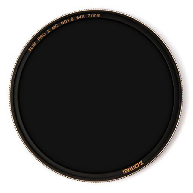 ZOMEi 52/ 58 /67 /72/ 77/82MM ND Neutral Density Filter ND8 / ND64 / ND1000 for Canon Nikon DSLR Camera Lens