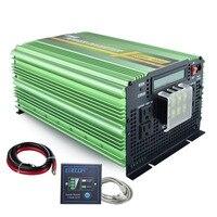 12 В 110 в 120 в 3500 Вт/7000 Вт Пиковая чистая Синусоидальная волна мощность 60 инвертор для солнечной батареи переменного тока в инвертирующий усил