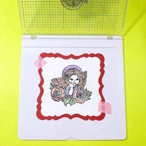 "Image 2 - Big size Stamping Tool 20.3x20.3cm(8x8"")   Perfect Positioning & Stamping for Clear Stamps"