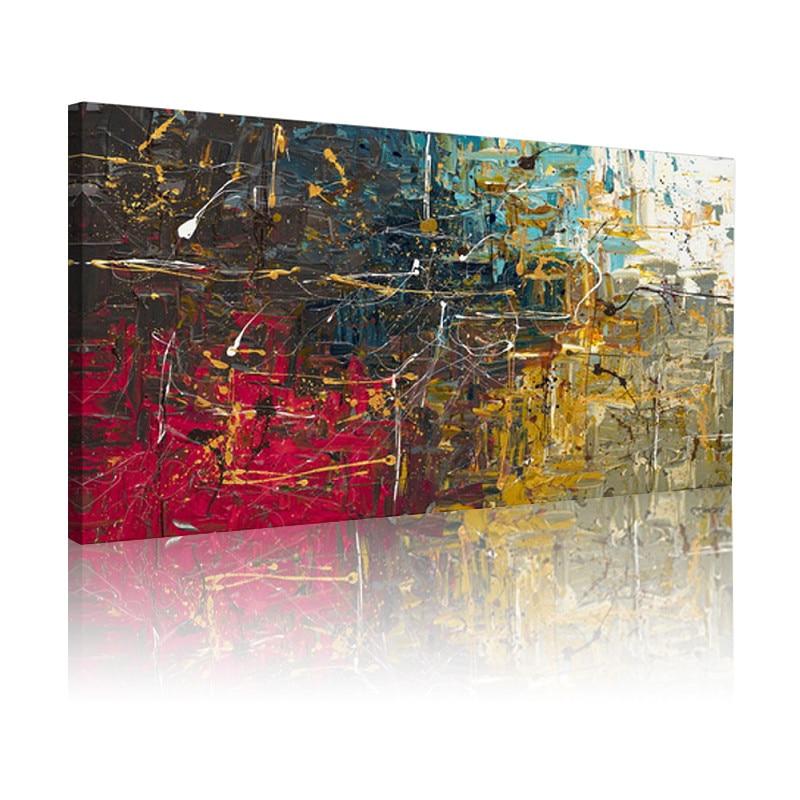 Imagen sin marco pintura abstracta pinturas al óleo sobre lienzo ...
