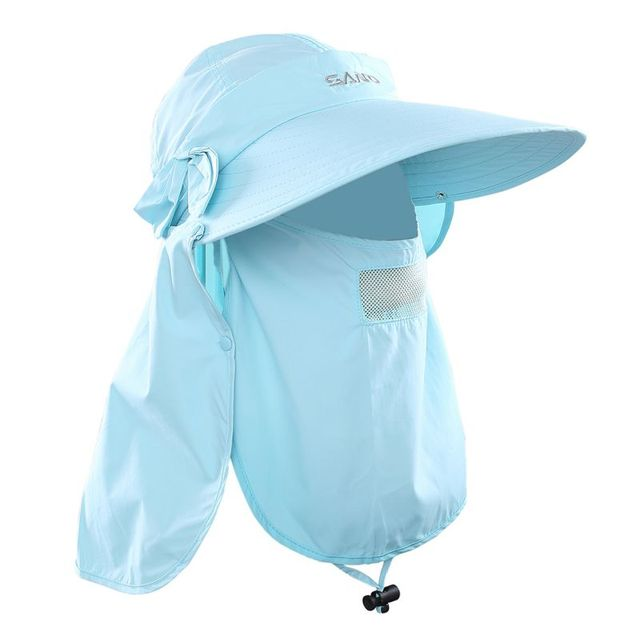 Outdoor Sport Hiking Camping Visor Hat Lovely UV Sun Protection Neck Face Flap Caps Wide Brim Protect Cap Newest 2017