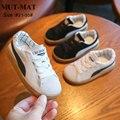 Кожаная обувь для мальчиков и девочек  износостойкая нескользящая обувь на весну 2019