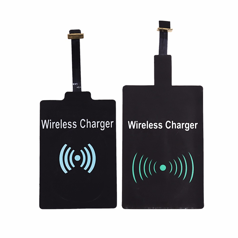 Android Micro USB Universal Qi Wireless Charger Receiver Charging Adapter Receptor Receiver Pad Coil Chip For Samsung HUAWEI