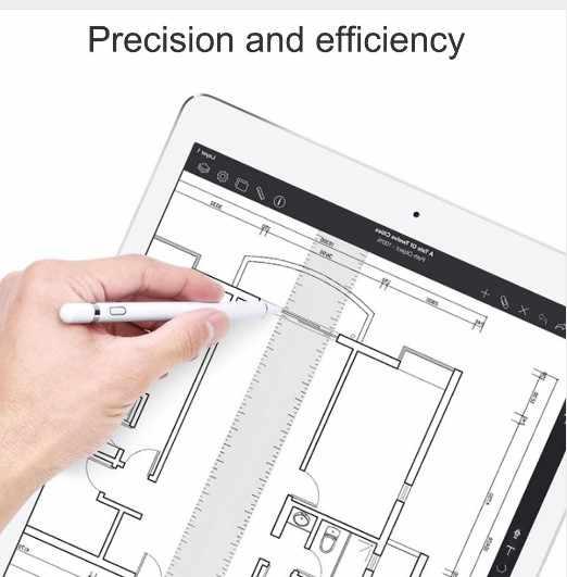 WIWU Cảm Ứng Bút Chì Cho iPad 2018 Stylus Bút Tương Thích Cho Android & IOS Bút Cảm Ứng Điện Thoại Máy Tính Bảng P339
