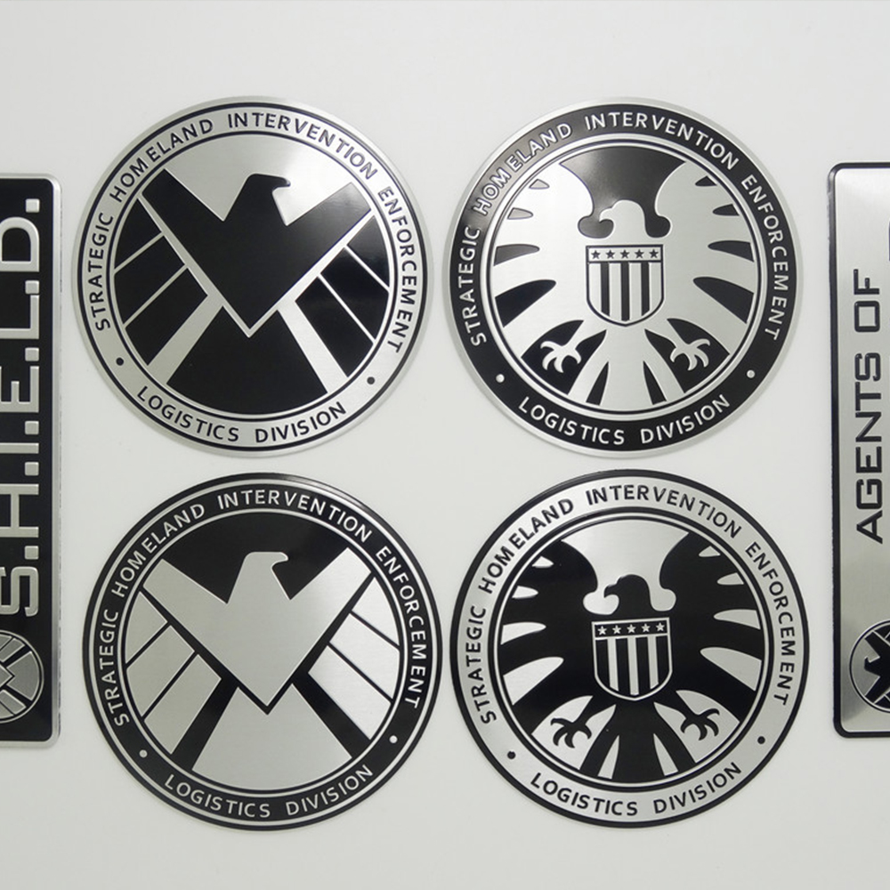 Multitype Personalized Stickers Marvel Agents Of Shield Sticker