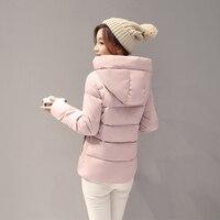 Female Cotton Short Slim New Winter Wind Color Code Cotton College Student Winter Coat Korean Women