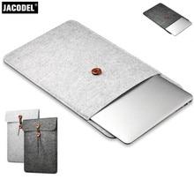 Jacodel Wool Felt Laptop computer Sleeve Bag 11.6 13.three 15.four Pc Case for Macbook Air Professional Retina Laptop computer Case 11 13 15 Liner Sleeve