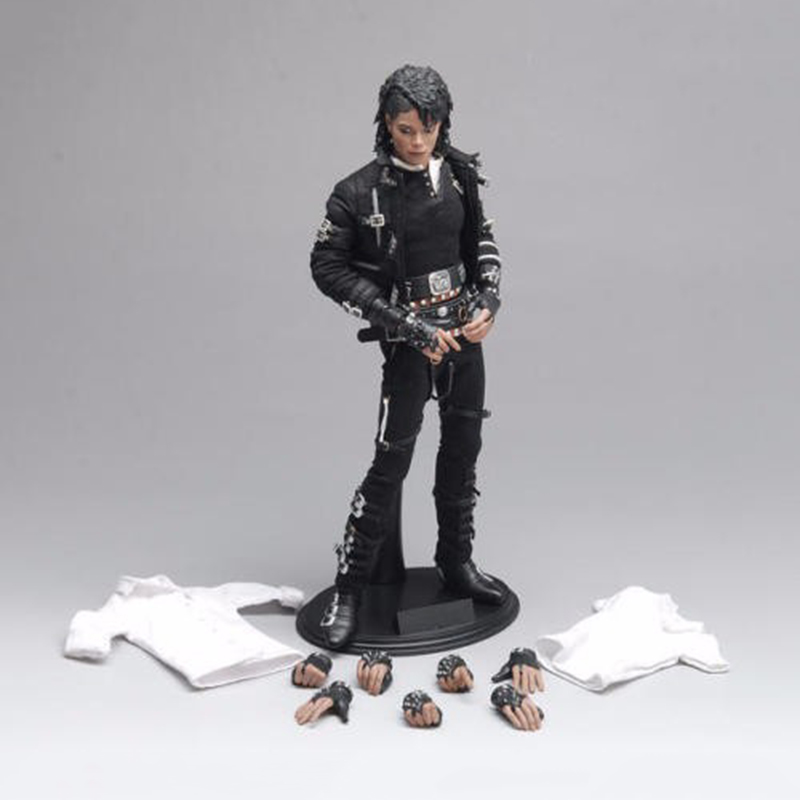1/6 Scale Michael Jackson Action Figure With Movable Eyes Collections Models Toys Gifts michael hutnak heat and fluid flow at a crustal scale