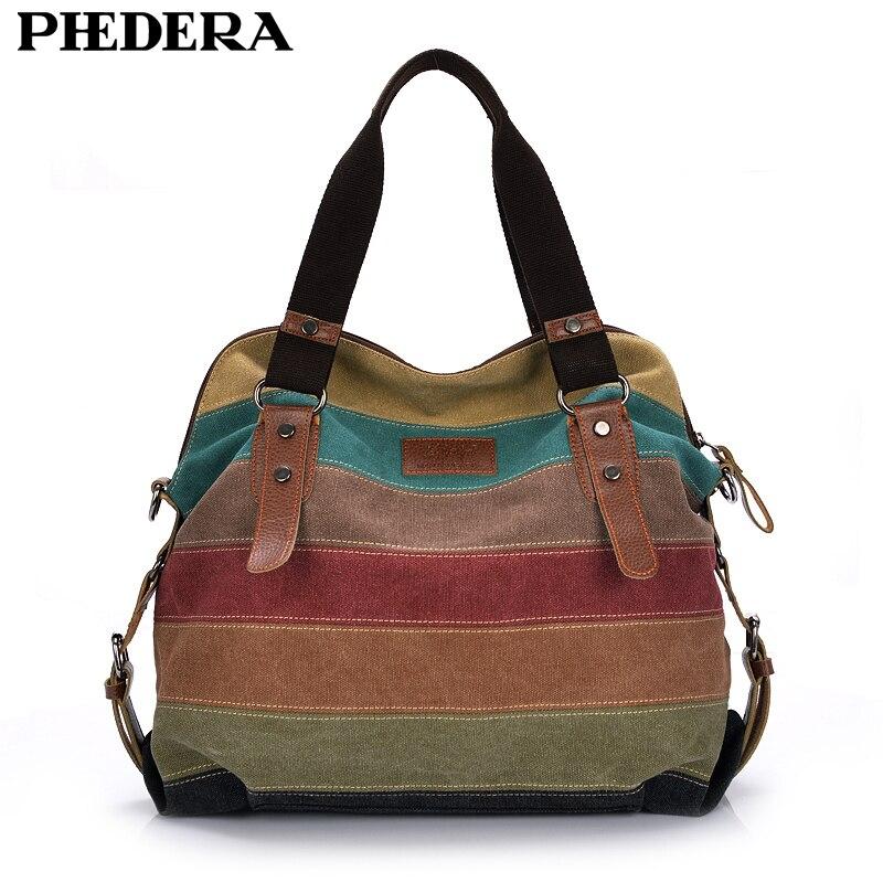 Moda bolsa bolso de las mujeres de la marca Patchwork Casual mujeres bolsas de hombro mujer Messenger Bag señoras 2018 Rainbow monedero bolsa