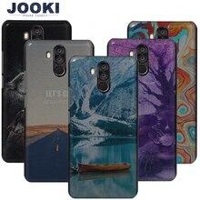 """Boîtiers JOOKI Oukitel K6 boîtiers en plastique durs pour Fundas Oukitel K6 téléphone portable 6.0 """"couvre la couverture arrière mince K6"""