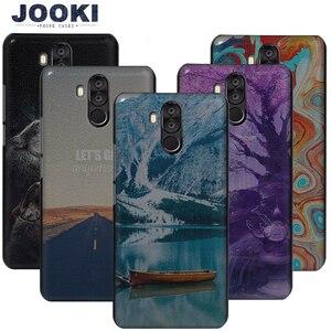 """Image 1 - Boîtiers JOOKI Oukitel K6 boîtiers en plastique durs pour Fundas Oukitel K6 téléphone portable 6.0 """"couvre la couverture arrière mince K6"""