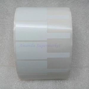 Image 4 - Network Cable Label Sticker 70*24mm 1000 Pieces PET Material White Color P Shape Waterproof Tear resistant