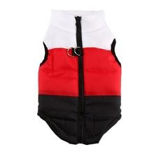 Winter Warm Dog Vest Harness 4 Color