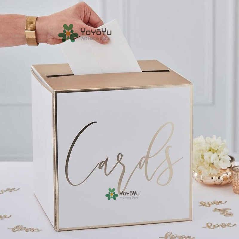 Wedding Card Holder Wall Stickers Post Box Wall Decal Wedding