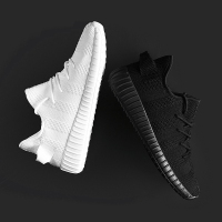 MVP BOY Brand 2018 New Summer Mesh Air Mesh Men Breathable Loafers Black Shoes Spring Lightweight