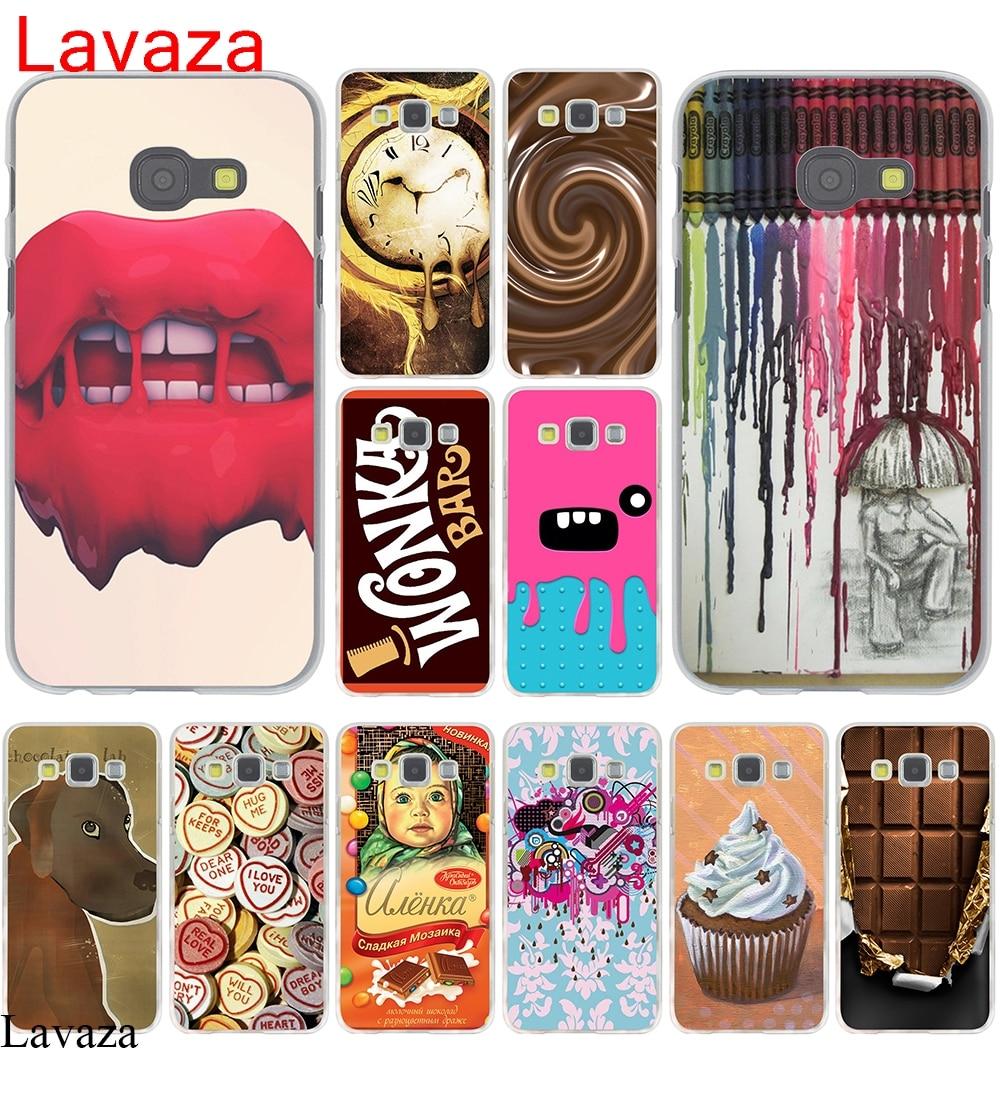 Lavaza Willy Wonka Bar Tiket Emas Cokelat Case Untuk Samsung Motif Kayu Mega 58 Galaxy A3 A5 2015 2016 2017 Grand Prime A8 Plus 2018 Note 8 9