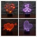 3D DECORACIÓN lámpara de La estrella de CINE doble cara de batman forma LED lámpara de Mesa Lámpara de estado de Ánimo daet 3D para decorar Luz de La Noche De niños