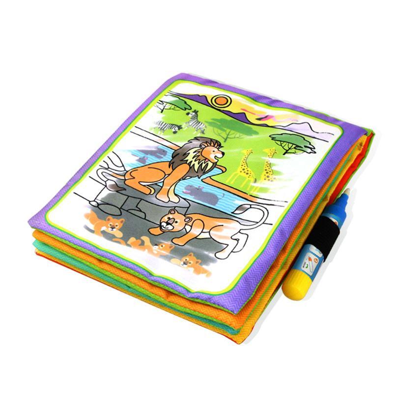 Barn Dyr Maleri Magic Vann Tegning Bok med 2 Vann Pen Barn Doodle - Læring og utdanning - Bilde 5