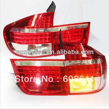 X5 E70 LED Tail Light Rear Lamp For BMW Red White Color 2006-2009 Year led tail lights for subaru for outback red white color 2010 2013 year for bmw style lf