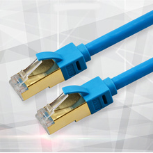 Cat7 Ethernet cable 50m RJ45 Lan Cable Cat 7 Network Cable ShieldedI nternet Cord 10m 40m  rj45 Patch Cable for PC Router Laptop цена в Москве и Питере