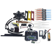 F05114-AW Full Set RC Drone MultiCopter Aircraft Kit F550 Hexa-Rotor Air Frame GPS APM2.8 Flight Control Flysky FS-i6