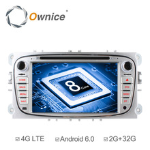 Ownice C500 Android 6.0 Octa 8 Core 2GB RAM Car DVD Player GPS Navi for Ford Focus Mondeo Galaxy Support 4G LTE Network DAB+