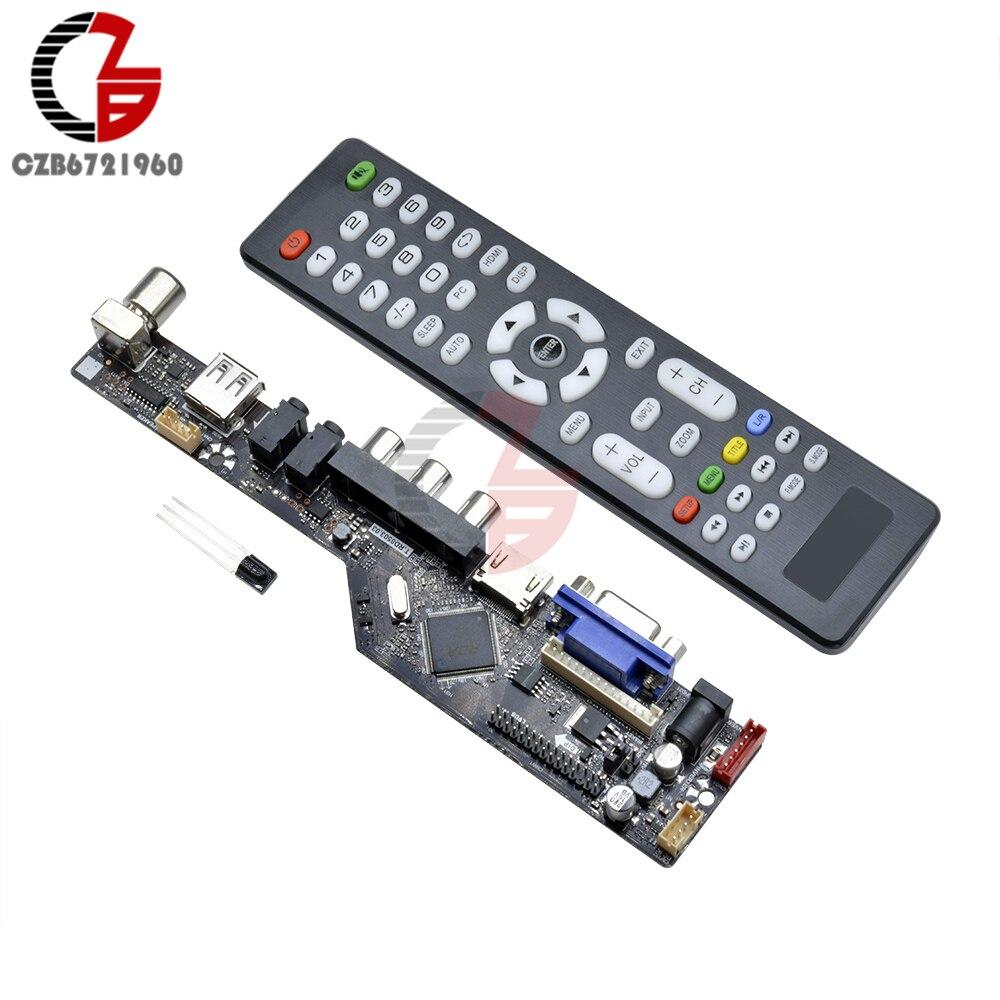Digital Led Display Wireless Bluetooth Fm Mp3 Decoding Board Tf Circuit Boardtv Amplifier Buy Radio Pcb Upgrade 1920x1080 12v V29 Lcd Controller Driver Tv Motherboard Hdmi Vga Av Usb