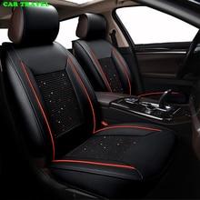 CAR TRAVEL ice silk car seat cover set for Nissan Qashqai Murano X-trail Tiida car seats protector car cushion Auto Interior