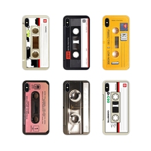 Carcasa del teléfono cubre para Huawei P Smart Mate Honor 7A 7C 8C 8X9 P10 P20 Lite Pro Plus arte de casete de cinta Retro estilo antiguo 3310