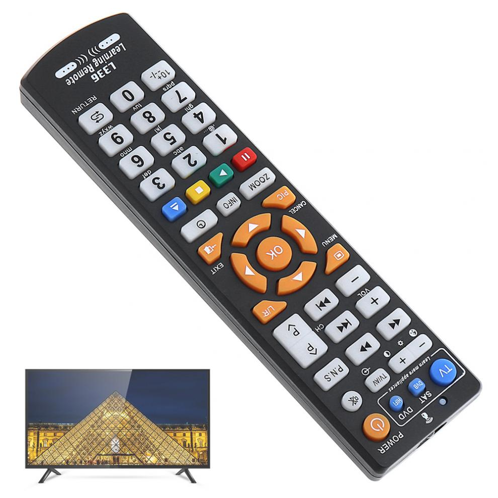 Universal IR TV Remote Control Controller with 8M Long Transmission Distance and Learning Type for TV Smart LCD