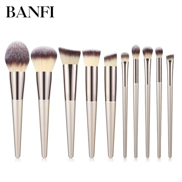 1PC Makeup Brushes Foundation Powder Blush Eyeshadow Concealer Lip Eye Make Up Brush Cosmetics For Face Beauty Make-up Tools New