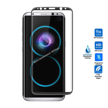 For Samsung Galaxy S8 Plus tempered glass screen protector 3D All Full Cover 9h safety protective film on S 8 S8PLUS G950F G955F
