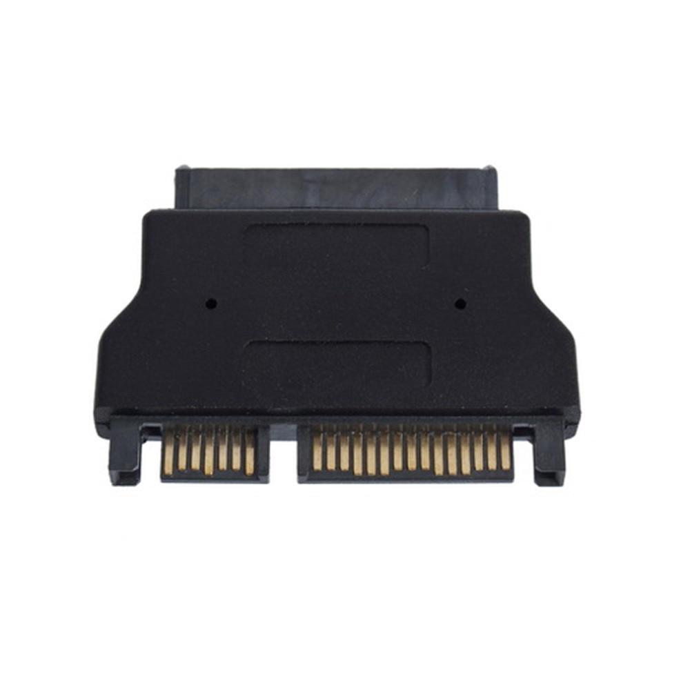 1 Pcs Micro SATA 16 pin Adapter Convertor New SATA 22 pin Male to 1.8 Hot Worldwide