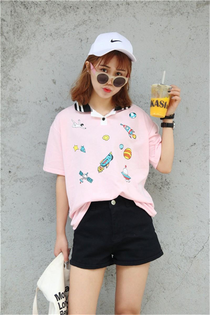 HTB1xNWzJFXXXXcxXpXXq6xXFXXXY - Cute Pink Harajuku Printed T Shirt Kawaii Cartoon Tee Tops 2017