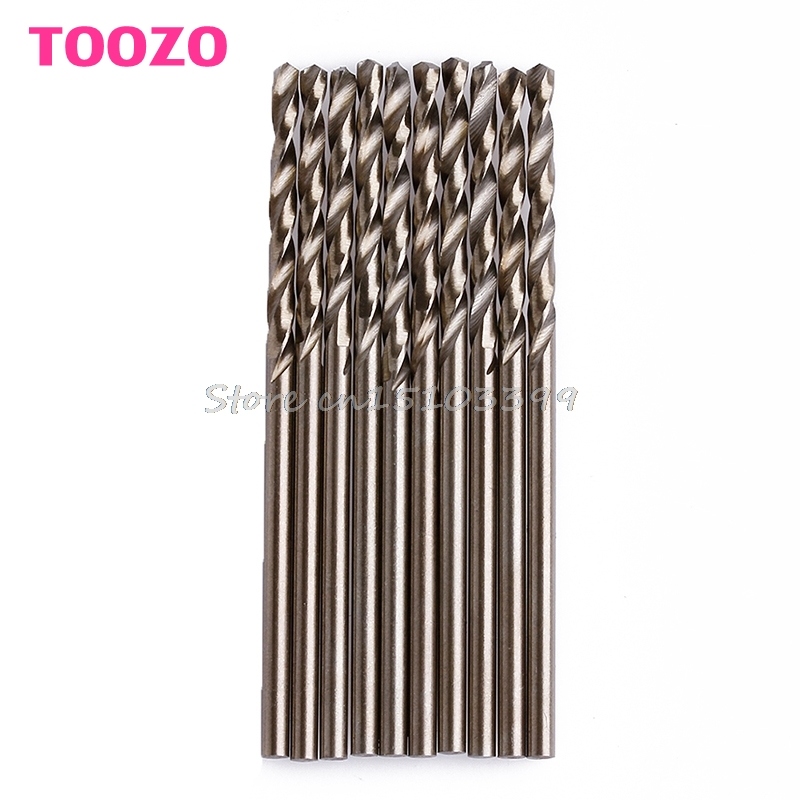 New 10Pcs/Set 2mm Twist Drill Bit Set Saw Set HSS-Co Cobalt Drill Woodworking Wood Tool #G205M# Best Quality чехол на сиденье skyway chevrolet cobalt седан ch2 2