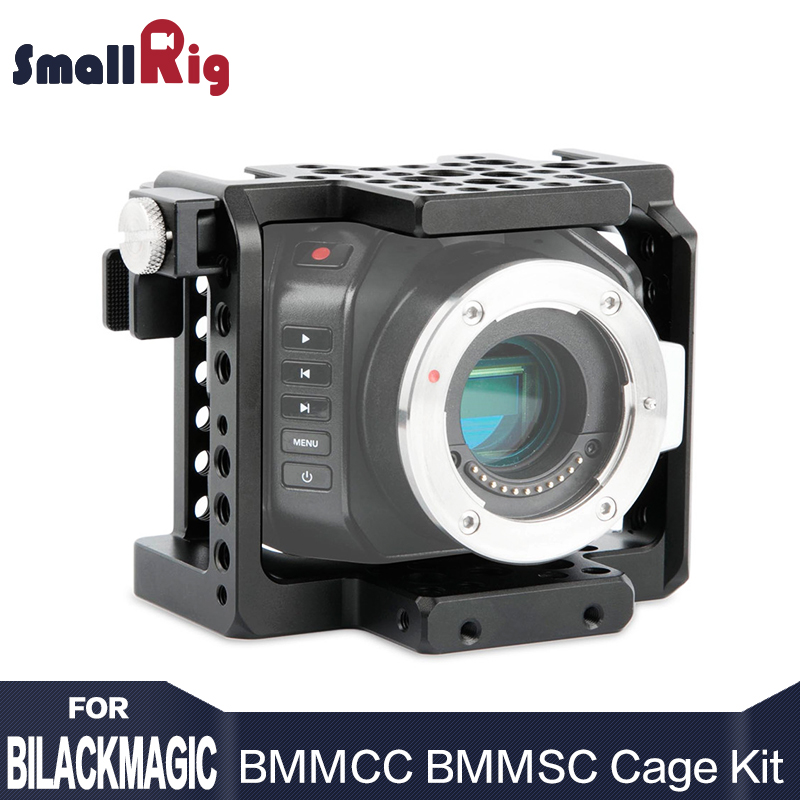 SmallRig BMMCC BMMSC Cage Accessory Kit for Blackmagic Micro Cinema Camera Cell with a HDMI Cable - 1920