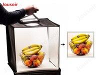 Фотостудия Light Box палатка мини Портативный фотосъемку комплект для съёмки торты, подарки, антиквариат, цветы, обувь и т. д. CD15