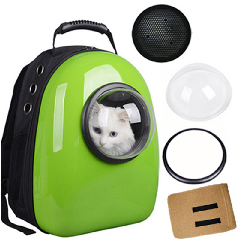 Space Capsule Shaped Pet Carrier Breathable Pet Backpack Pc Pet Dog Outside Travel Bag Portable Bag Cat Bags #1