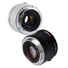 Viltrox C AF 2X TELEPLUS Teleplus פוקוס אוטומטי כפל 2.0X Extender טלה ממיר עבור Canon EOS EF/EF עדשת 7DII 5D IV