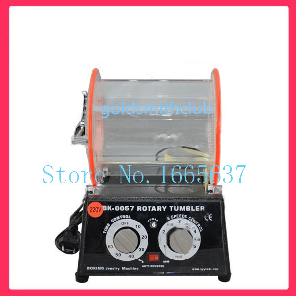 220V Jewelry Polishing Machine Rotary Tumbler Polishing Machine Rock Barrel Polisher Jewelry tools 1pc/lot high quality 220v rock rotary tumbler jewelry polishing machine finishing machine jewelry tools