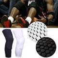 Sport Basketball Honeycomb 1Pcs Antislip Breathable Knee Pads Safety Bumper Brace Crashproof Leg Knee Long Sleeve Gear Protector